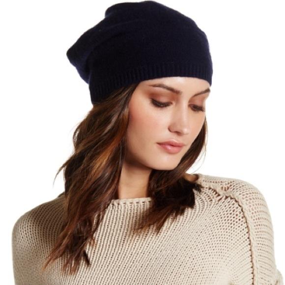 Portolano Cashmere Slouchy Hat. M 5a37457784b5ce450303a053 e17bbba42e60